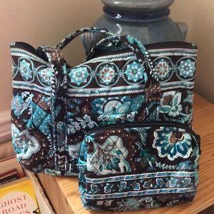 Vera Bradley set- Purse and small matching bag!